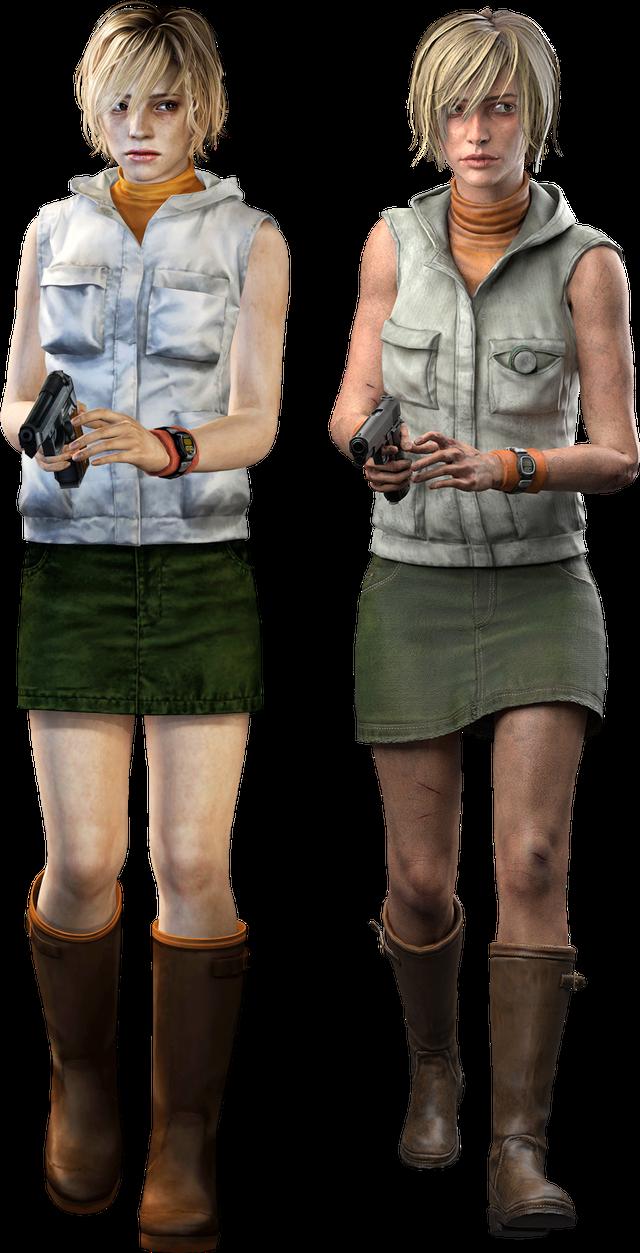 Dead By Daylight S Heather Mason Next To Sh3 S Silenthill Silent Hill Silent Hill Game Silent Hill Art