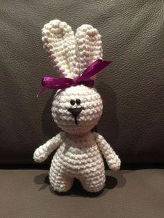 Kostenlose Häkelanleitung Häschen Hedy anfängerfreundlich #knittingpatternstoys
