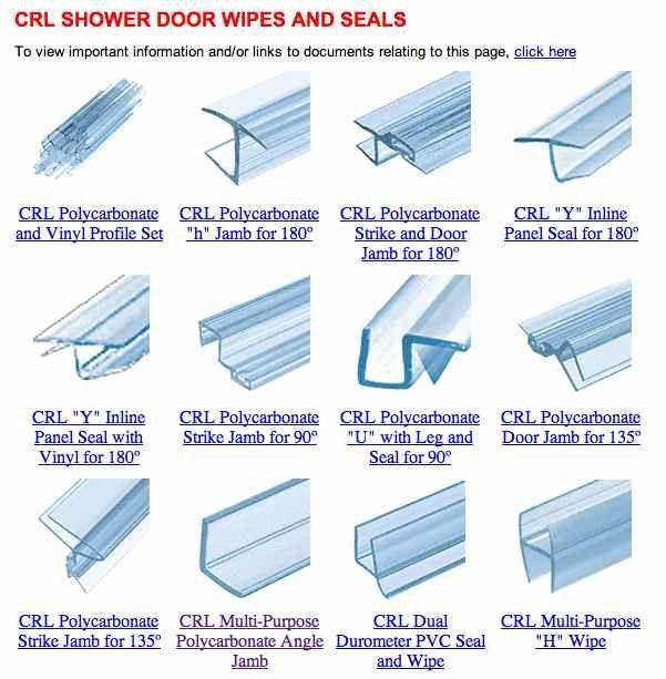 What Type Of Seal Needs Replacing On Your Frameless Shower Door 2