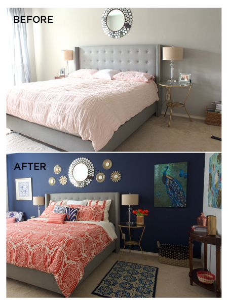 Sherwin Williamsu0027 Naval...love The Navy Wall, Grey · Grey Coral BedroomDark  ...