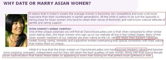 Stereotypes of dating an asian girl