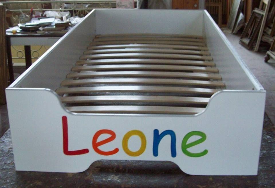 Arredamento Montessori ~ Lettimo montessori lettino montessoriano personalizzato