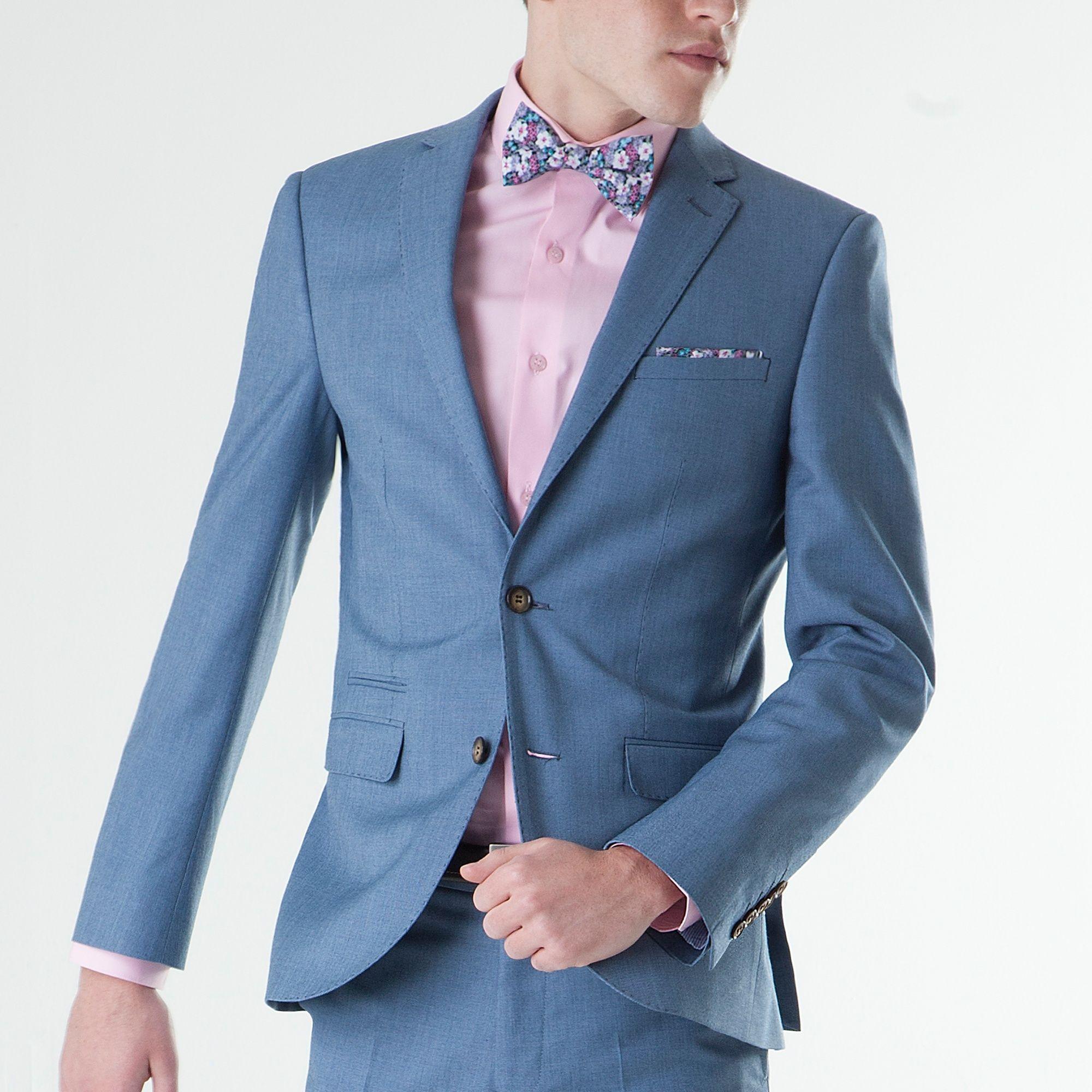 ONESIX5IVE Slim Fit Two Piece Light Blue Suit | my wedding ...