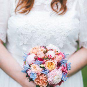 Mein Bunter Hochzeitsstrauss Blumenstrauss Www Lisa Liebt De Foto