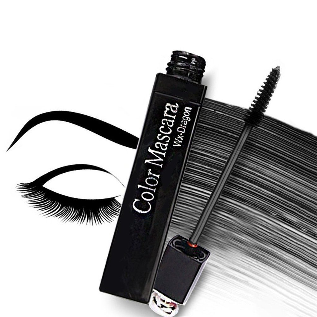 8 Color Women Fashion Multicolor Mascara Charm Thick Curly