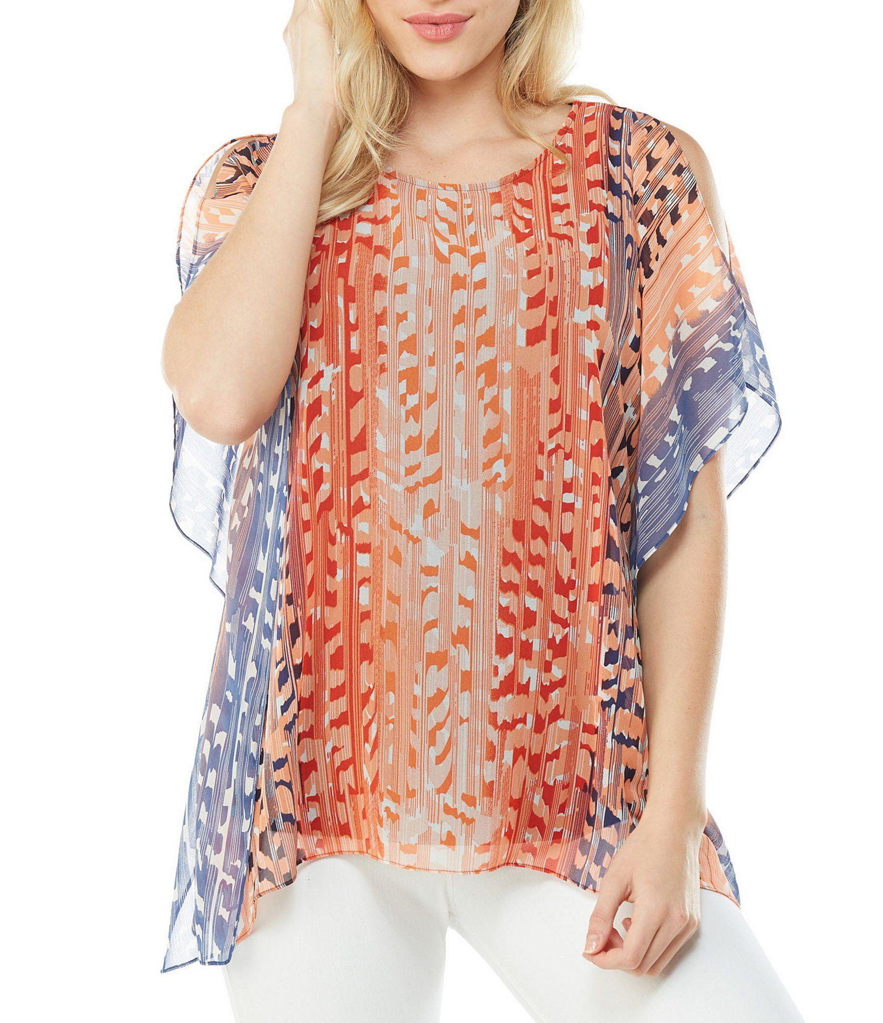 af7e643c66c Peter Nygard Cold Shoulder Kimono Top #Dillards   Stitch Fix   Tops ...