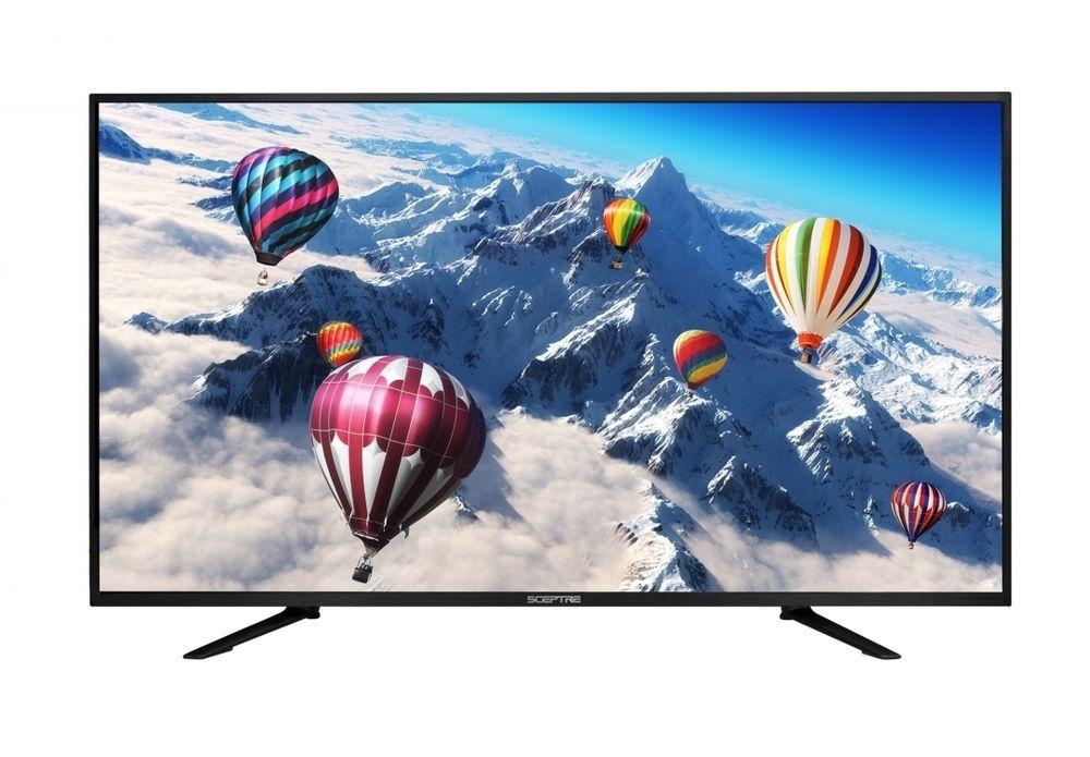 "Sceptre U550CV-U 55/"" 4K Ultra HD 2160p 60Hz LED HDTV 4K X 2K Slim Wall Class"