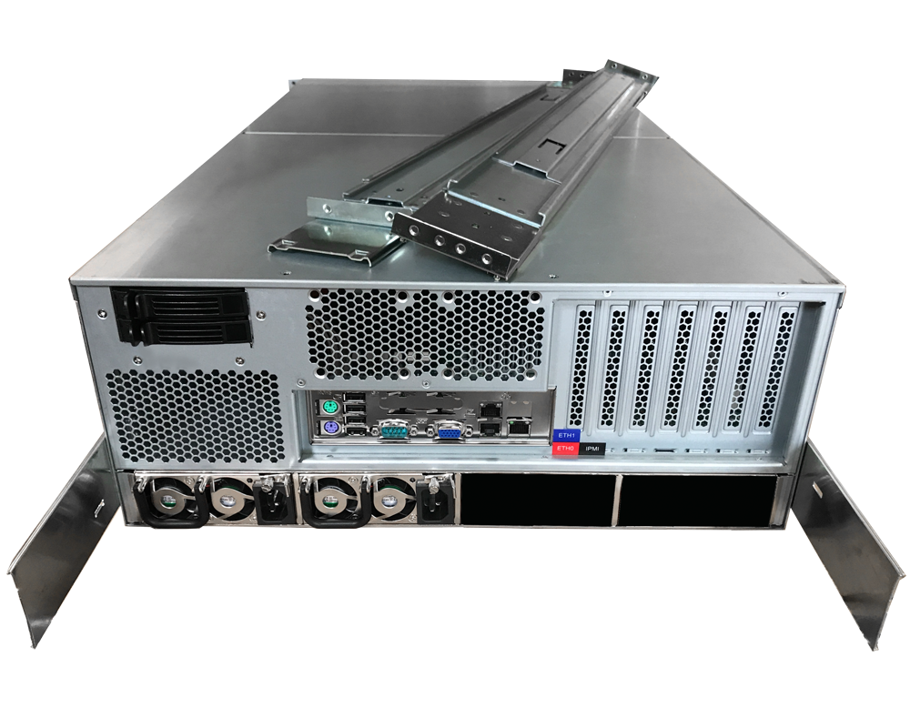 Chenbro Supermicro 48 Drive 2x E3-1250L Quad-Core Low Power NAS JBOD