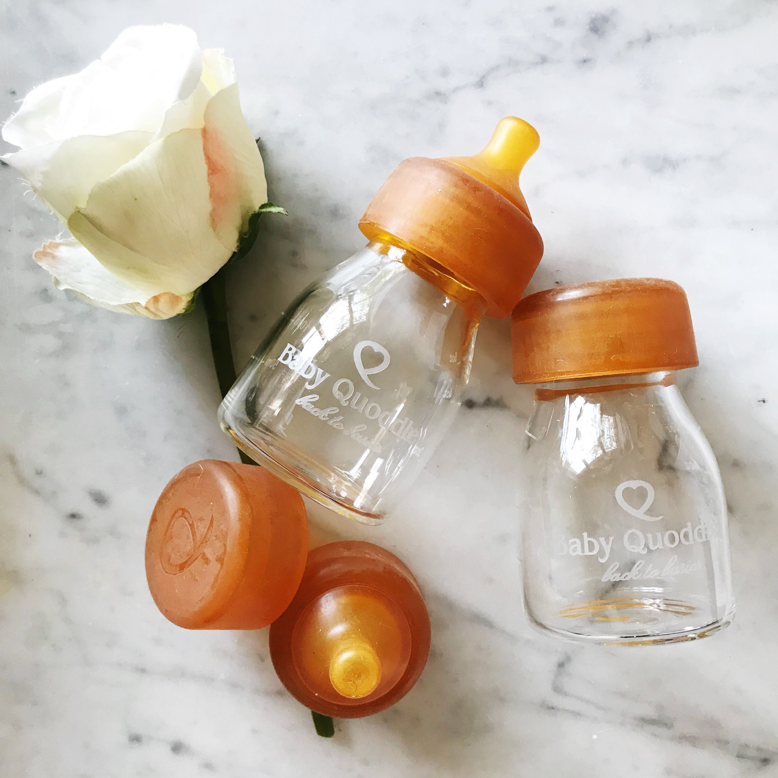 Baby Quoddle Plastic Free Glass Baby Bottle Glass Baby Bottles