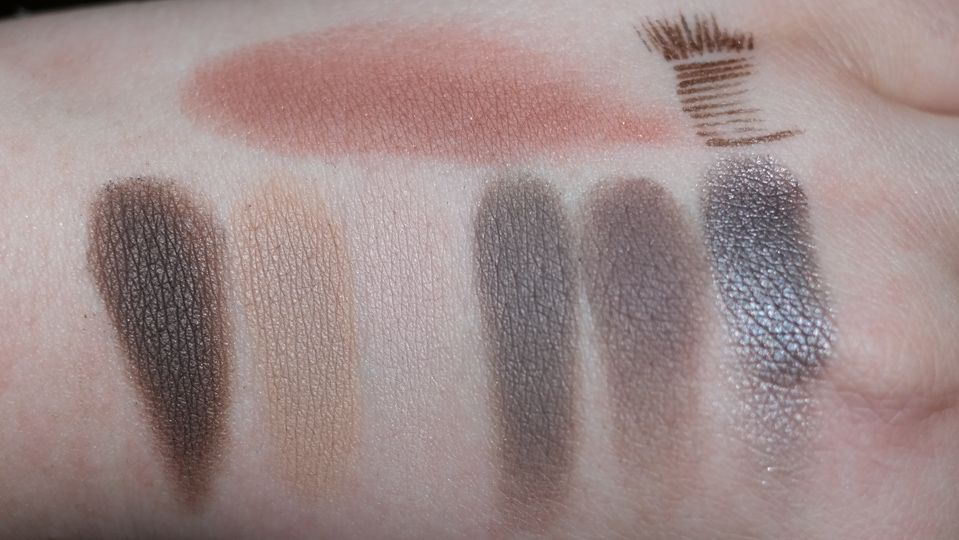CLARINS Ombre Matte Eyeshadow Fall Collection 2014-3 Earth | Nude Beige | Nude Pink | Taupe | Rosewood | Sparkle Grey