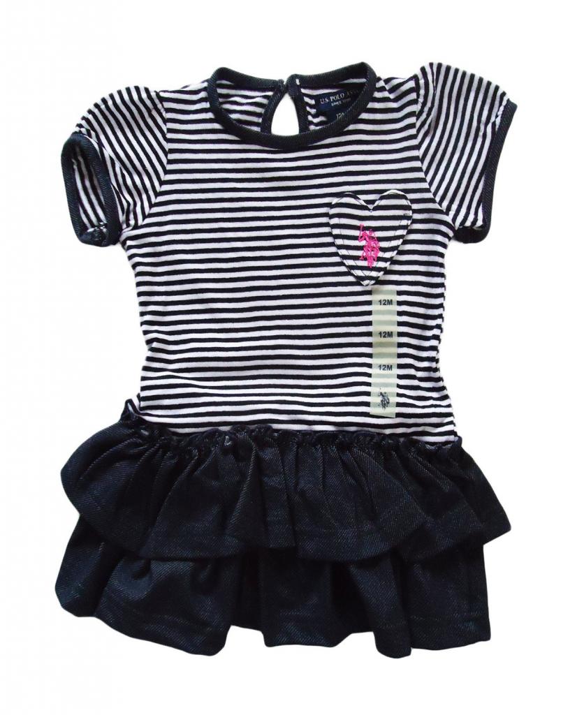 Us Polo Assn Kids Cutest Ever Baby Girl Dress Baby Girl Dresses