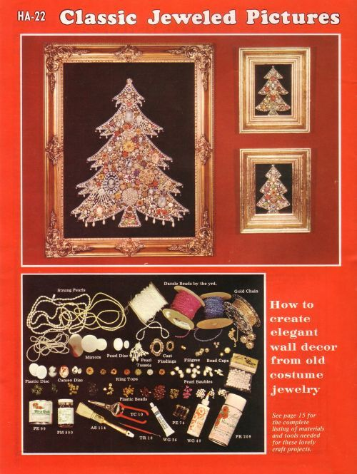 Every year I look forward to pulling out my elegant vintage jewelry Christmas Tree. This is by far my favorite Christmas decoration and take...