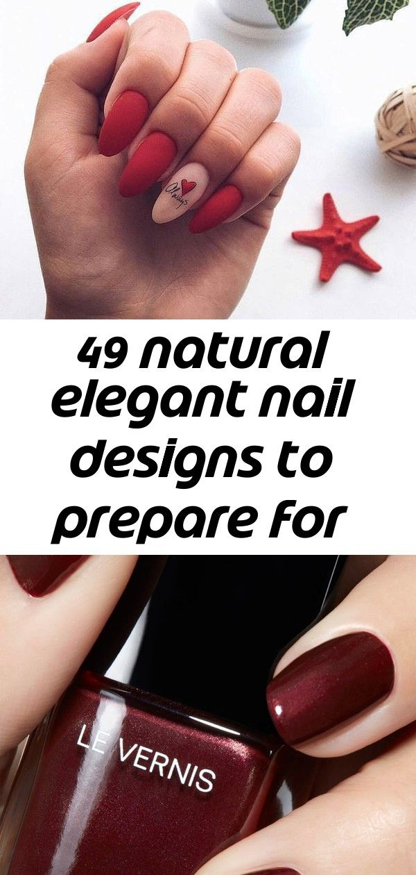 49 natural elegant nail designs to prepare for parties and holidays – page 42 of 49 10