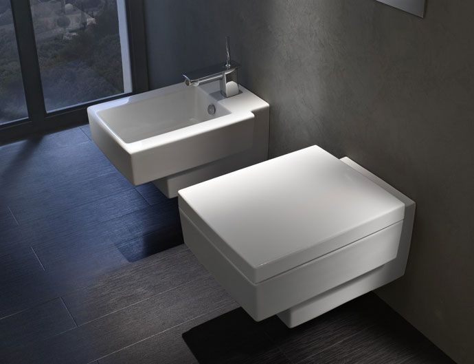 Wall-hung Terrace loo from Kohler with soft-close seat, from £570 ...
