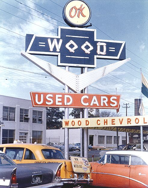 Wood Chevrolet 1962 Birmingham Al Dealership Birmingham