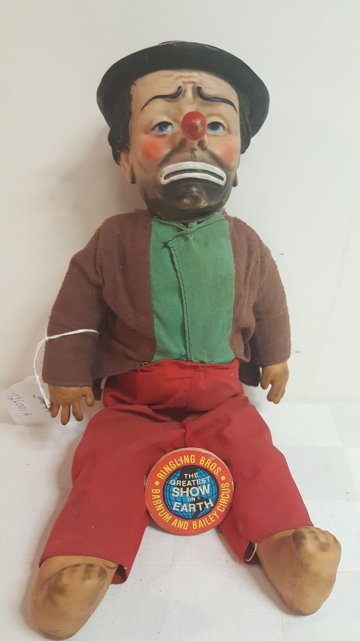 By Baby Barry Toy Co. NY soft plastic body, all items are