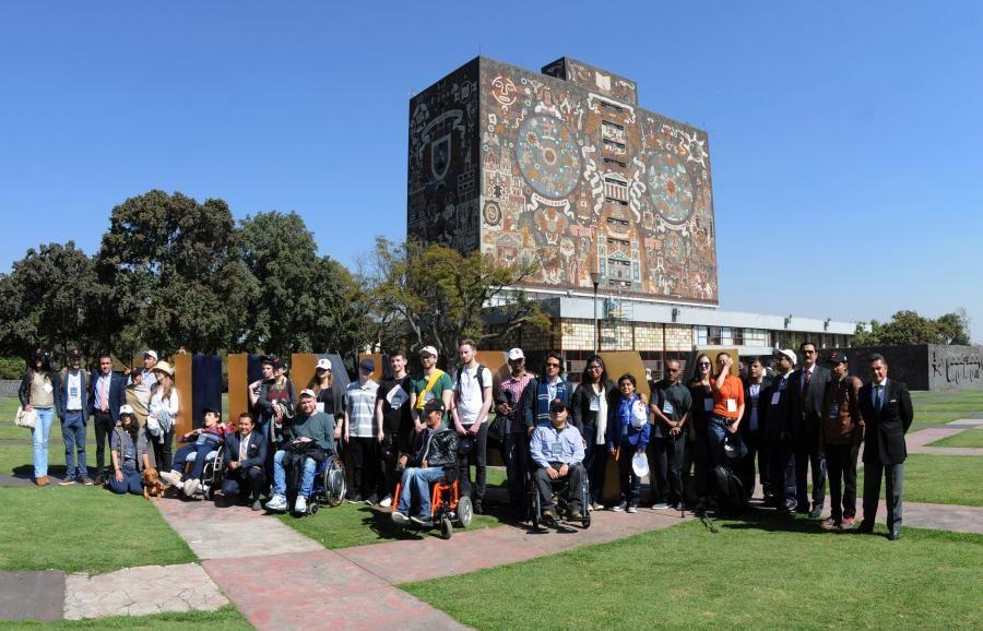 UNAM, SEDE DEL PROGRAMA INTERNACIONAL DIALOGUES ON DISABILITY 2017