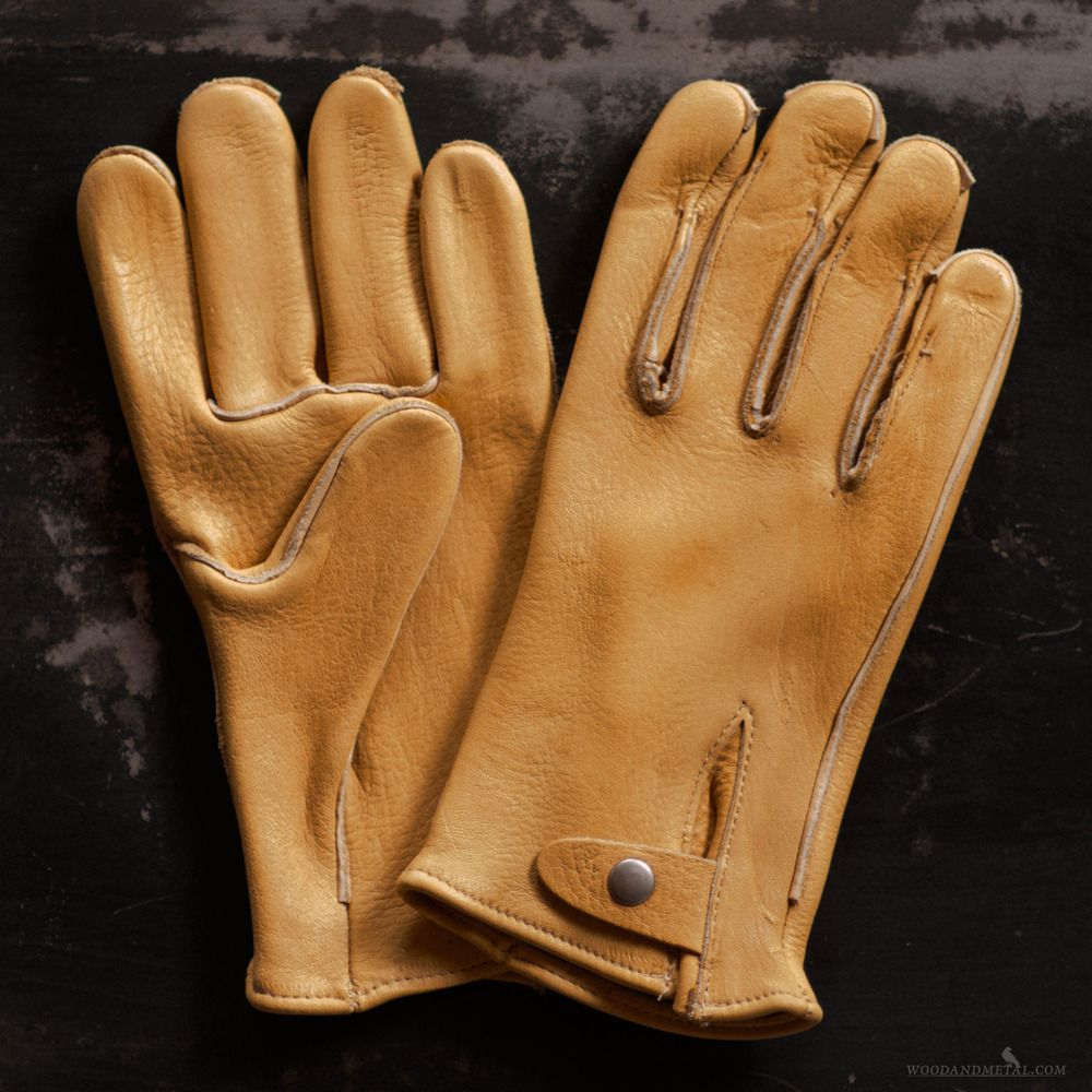 Leather work gloves made in the usa - Category Gloves These Are The Ultimate Heavy Weight Elkskin Work Gloves Made By Geier Glove Co Right Here In The Usa Aptly Equipped With A Snap