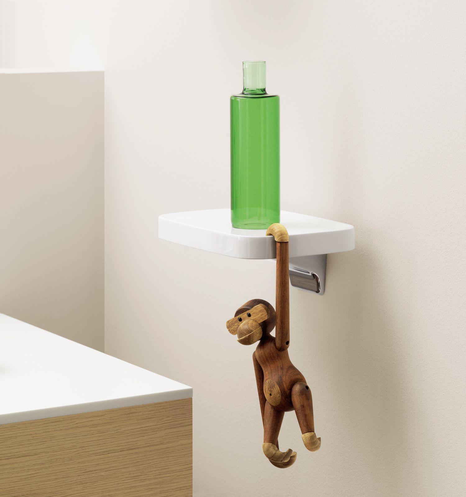 Axor Bouroullec Small Shelf w/ Rosendahl Monkey | Flexible ...