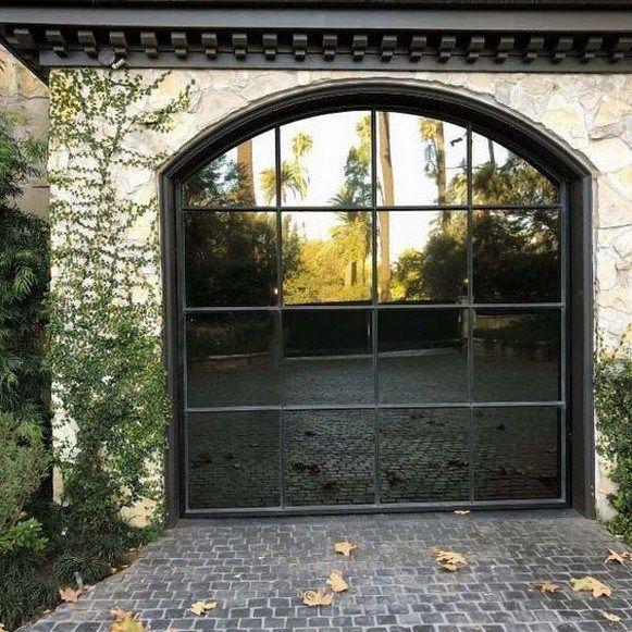 51 Stylish Modern Garage Door Design In 2020 Garage Door Design Modern Garage Doors Best Garage Doors