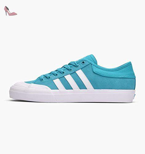 separation shoes 81ae6 c7a1a Adidas pour homme Matchcourt ADV Chaussures de skate, Energy Blue S17 Ftwr  White