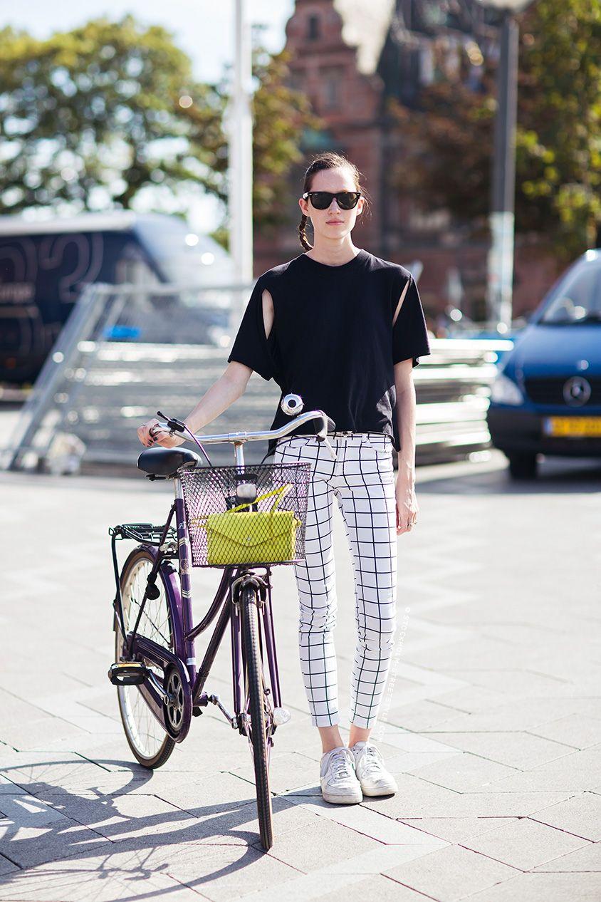 Bike fashion, bike style, street style: Stockholm