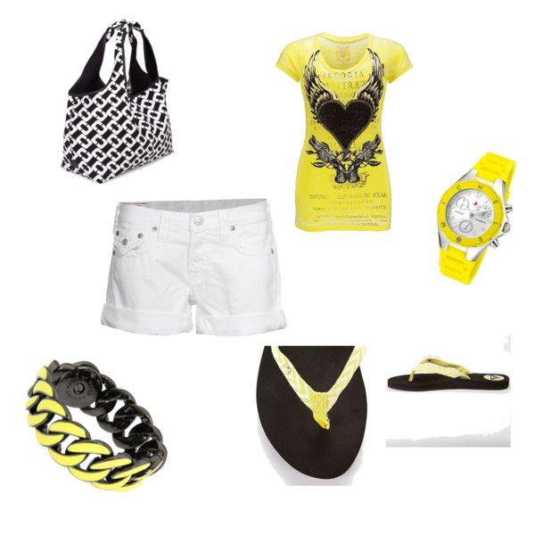 Yellow/White/Black