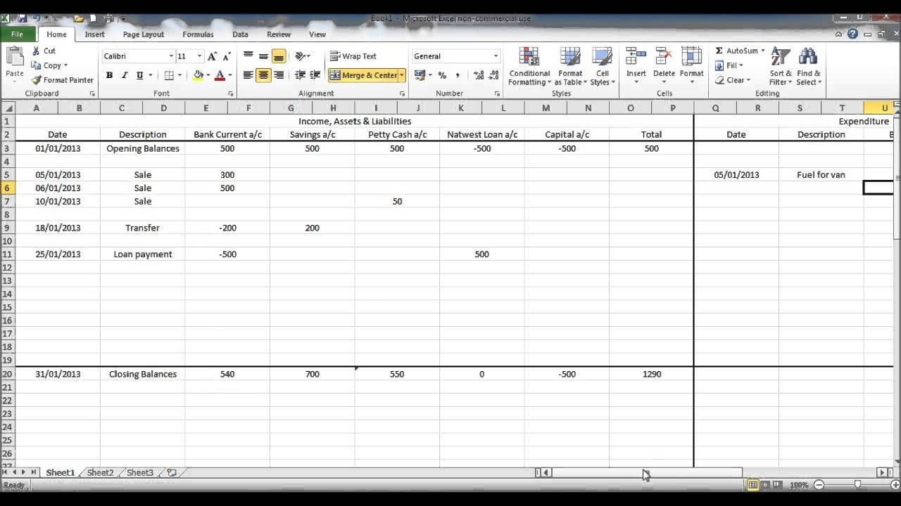 Bookkeeping For Self Employed Spreadsheet In 2021 Budget Spreadsheet Excel Spreadsheets Templates Bookkeeping Templates Free bookkeeping spreadsheets for self