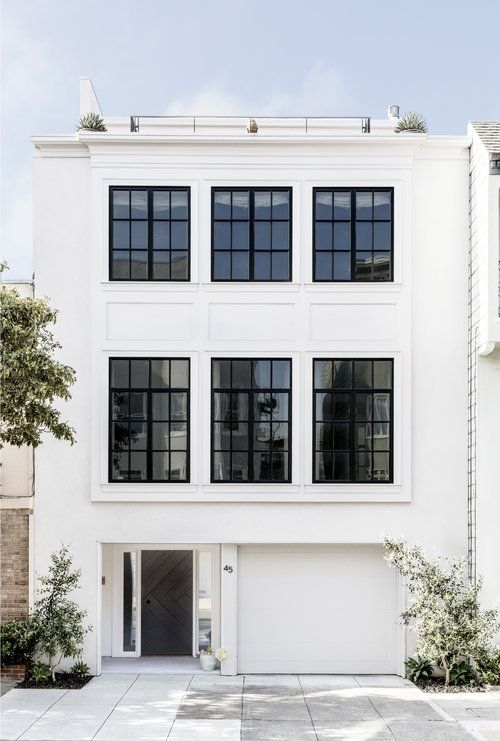 How To Get Gorgeous Black Windows Faux Metal With A Paint Brush And Some Paint Super Easy Li Black Window Trims Black Window Frames Painted Window Frames