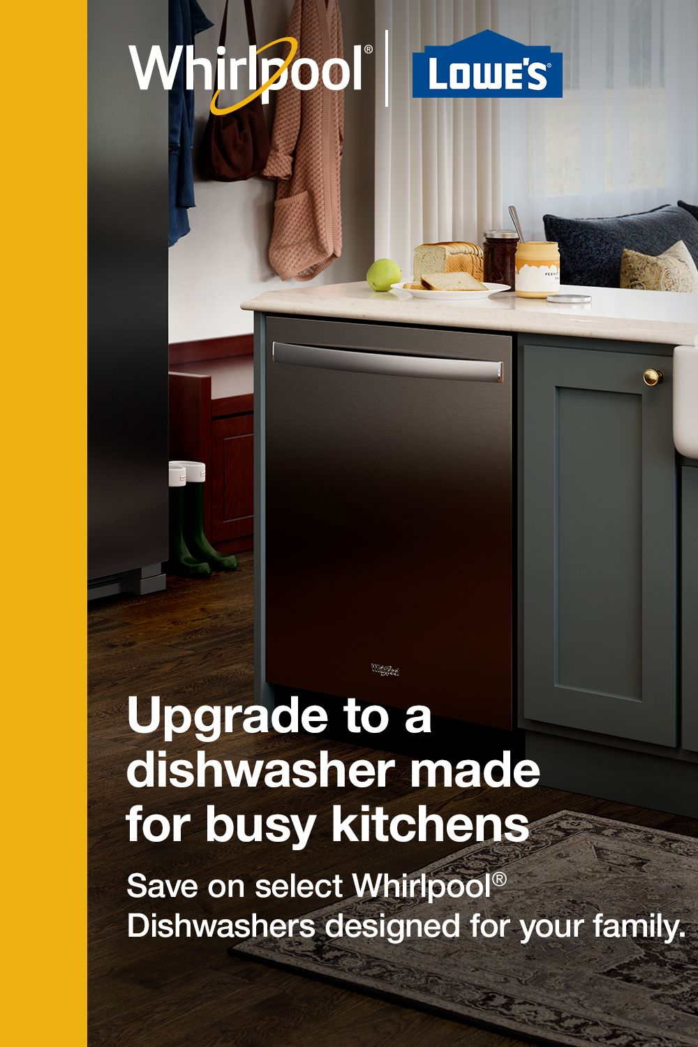 Save On Select Highly Rated Whirlpool Dishwashers Kitchen Renovation Kitchen Remodel Whirlpool Dishwasher