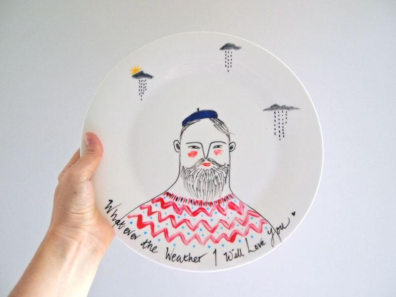 Hand painted ceramic plates & Hand painted ceramic plates | Painted ceramic plates Hand painted ...