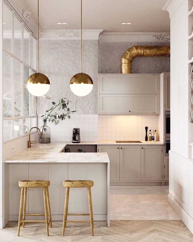 M O N D A Y On Instagram It S All In The Details Via Pinterest Modern Kitchen Tables Modern Kitchen Design Kitchen Design