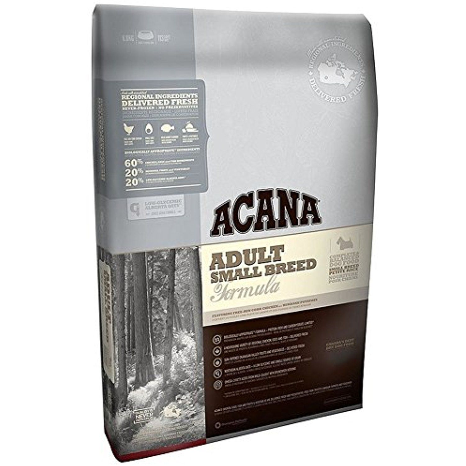 Acana Adult Small Breed Dog Dry Mix 2.27kg You can see