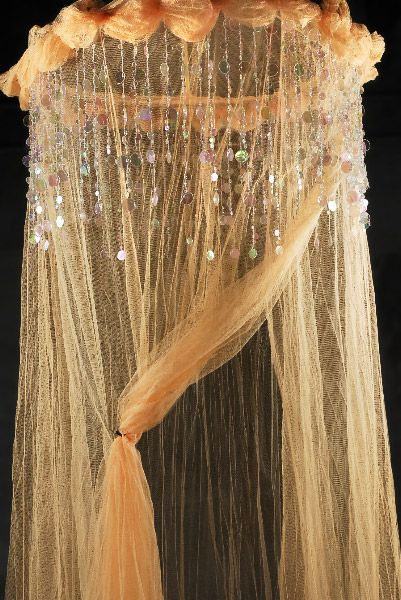 Eye For Design Decorating Your Bed With Gauze Canopies .Dreamy And Exotic & girls | Heavenly Peach Bed Canopy Net $29 | Kids Room: Ophelia ...