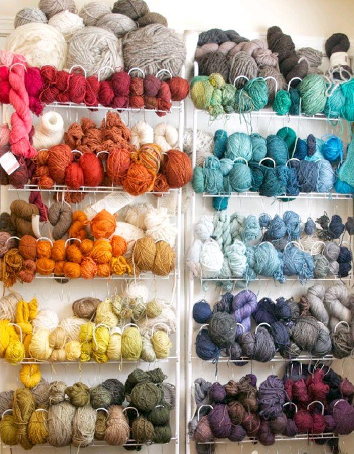 Favorite Finds: Yarn Storage Ideas