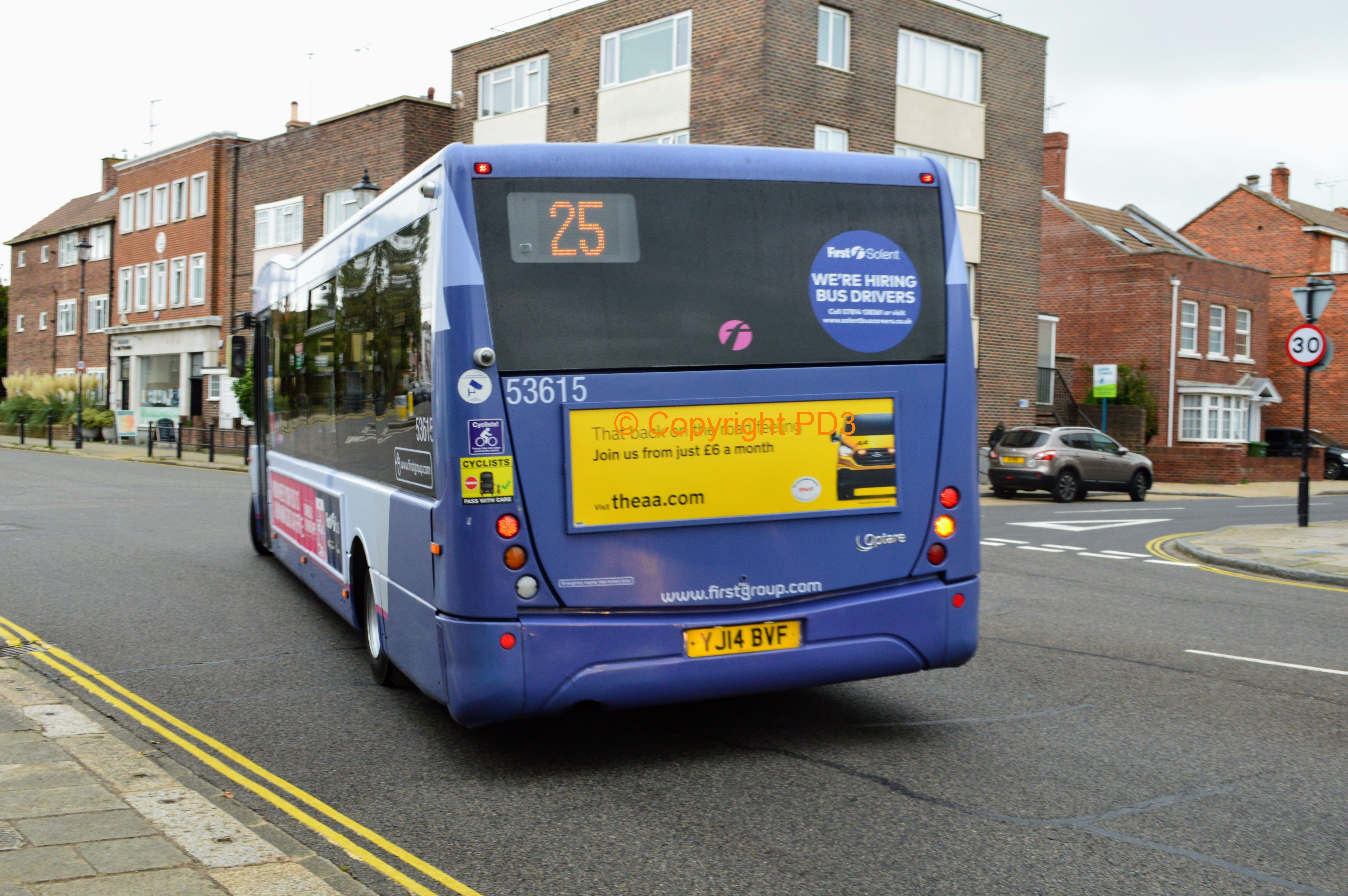Edinburgh Bus Service 1st January