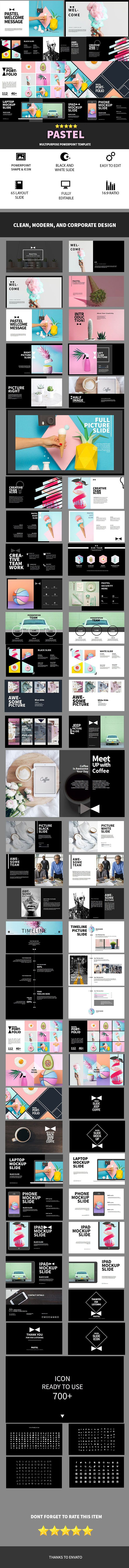 Pastel multipurpose powerpoint template apresentao projetos pastel multipurpose powerpoint template business powerpoint templates toneelgroepblik Image collections