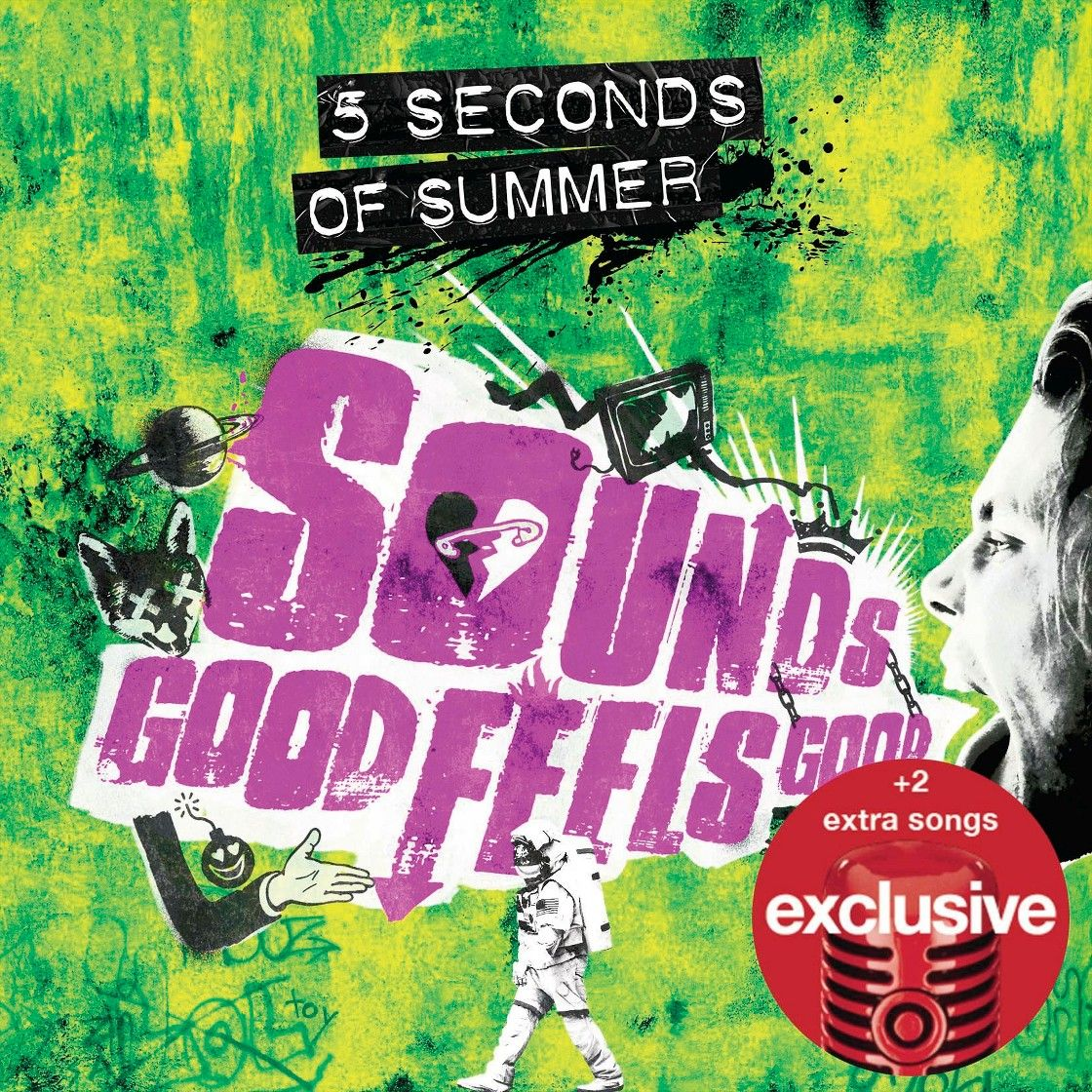 5 Seconds Of Summer Sounds Good Feels Good Standard With