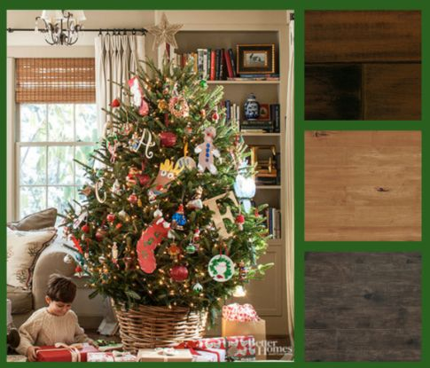 """In many homes, a traditional Christmas celebration revolves around a fresh-cut tree but what about those stray pine needles, sticky sap and water that leaks from the tree stand? We'll show you how to protect your hardwood flooring in """"Holiday Survival Tips for Hardwood Flooring:  http://mmathomeblog.info/?p=2781"""