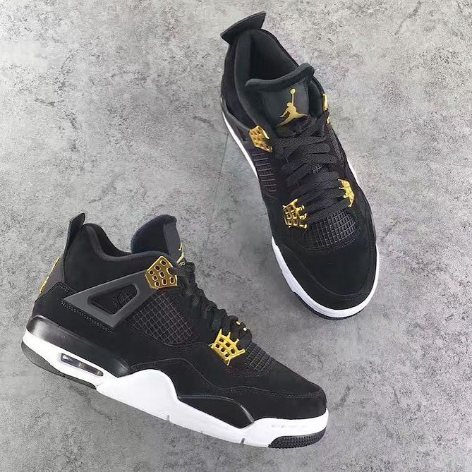 18e78490c50c62 Royalty is on the way. The Nike Air Jordan 4 Retro