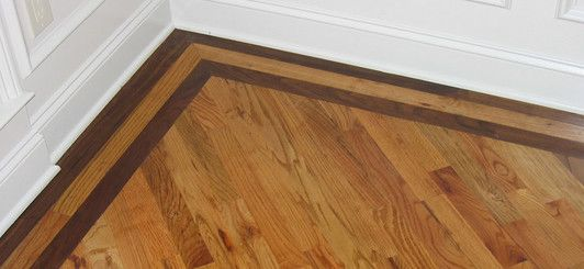 Here S Another Hardwood Flooring Option To Consider Picture Frame Border Floors