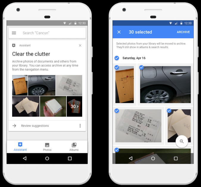Google just made archiving photos a tad easier with a