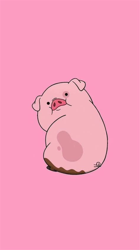 Cute Pig HD Phone Wallpaper - #Cute #HD #phone #Pig #