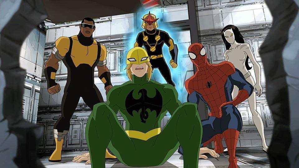 Marvel S Ultimate Spider Man Iron Fist Iron Fist Power Man Luke