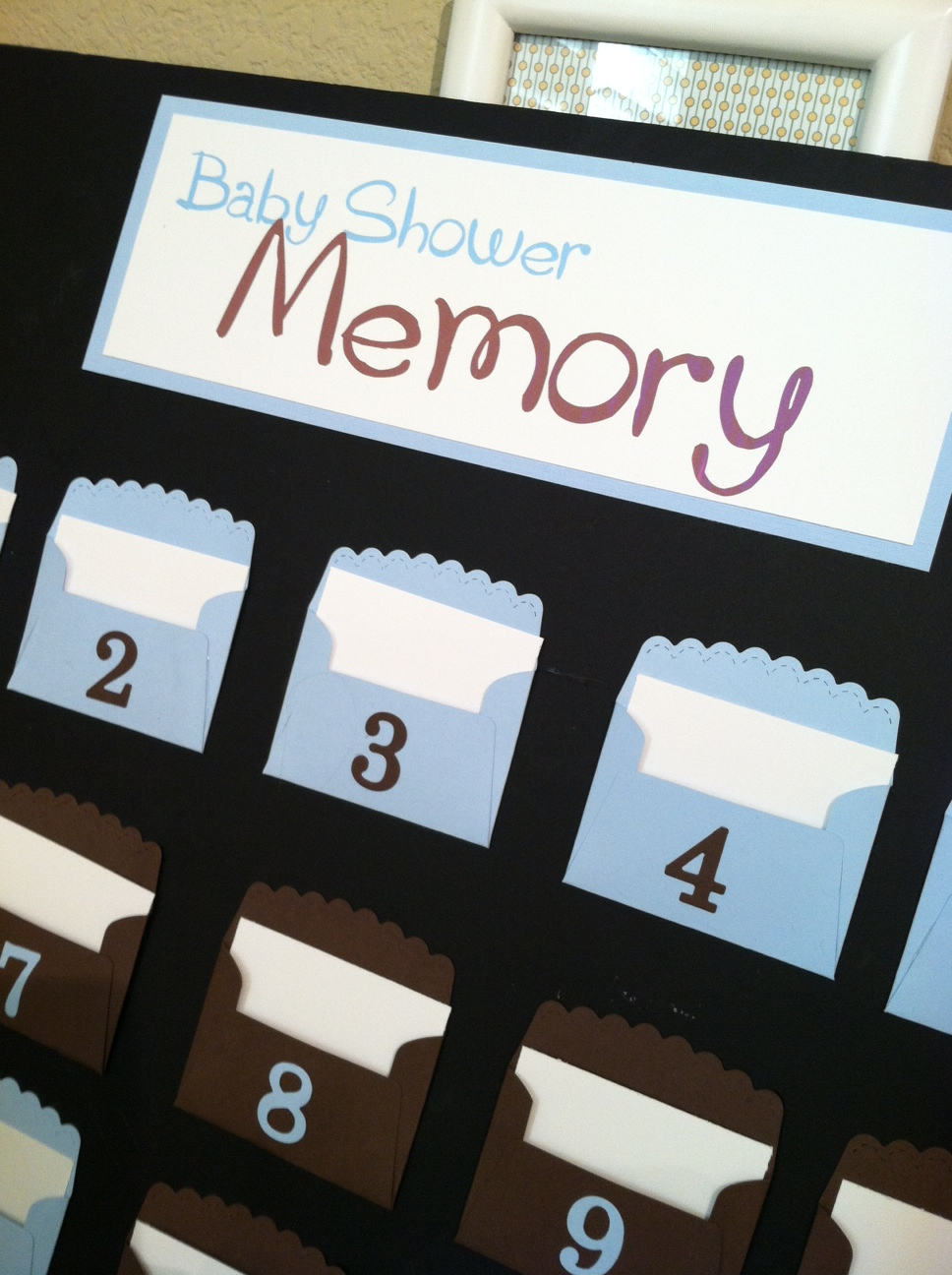 Attractive Stampin With Niki: Baby Shower Memory