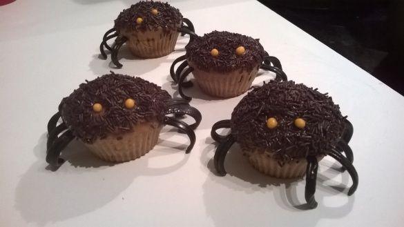 Muffins araignées, la recette facile