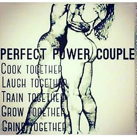 Power Couple Quotes Awesome Perfect Power Couple Cook Together Laugh Together Train Together . Inspiration Design