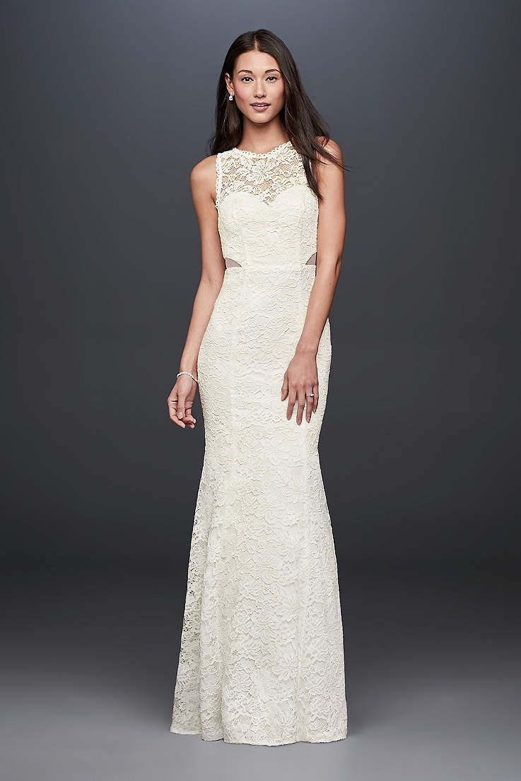 View tank long wedding dress at davidus bridal wedding dresses