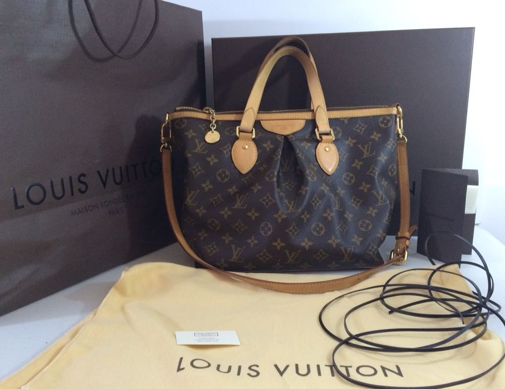 Authentic LOUIS VUITTON Palermo PM Monogram Purse LV Shoulder Bag handbag  BOX +  LouisVuitton  ShoulderBag  ebay  LV 3b8955a269002