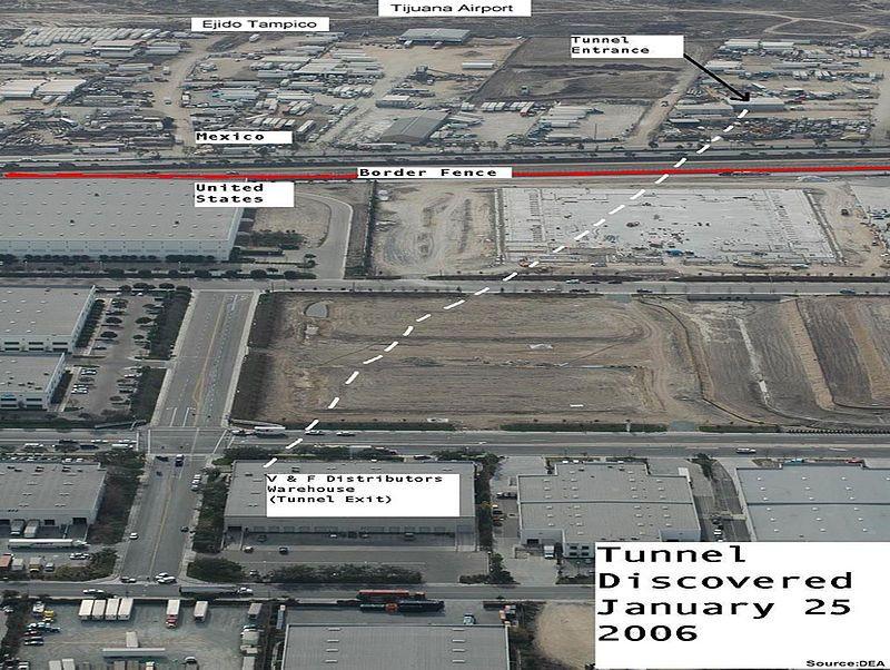 Sinaloa Cartel Drug Tunnel MexicoUnited States border Wikipedia